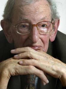 Eric Hobsbawn, historiador inglês e membro da Academia Britânica de Ciências